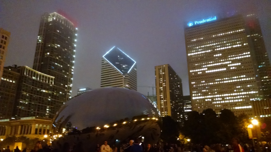 150626 - Foggy Chicago Sky line photo credit Drumnmike