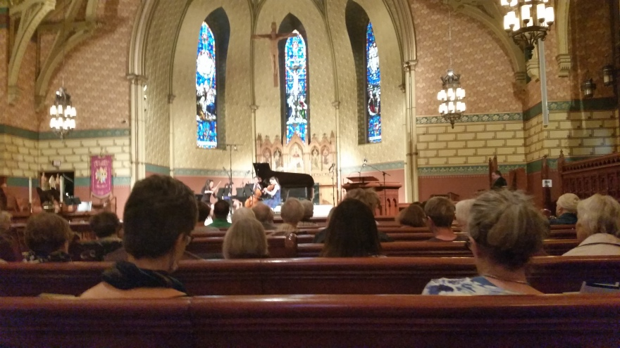 150707 - st james cathedral  - Piano Quartet:Photo by Drumnmike
