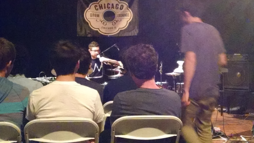 7-2-15 mark guiliana at Constellation - Drum Clinic