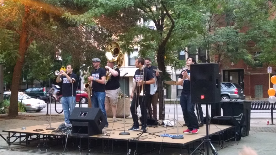 150708-Four Star Brass Band - North Center:Photo By Drumnmike
