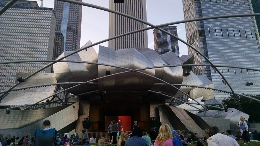 150709 Judah & the Lion - pritzker pavilion: photo by Drumnmike