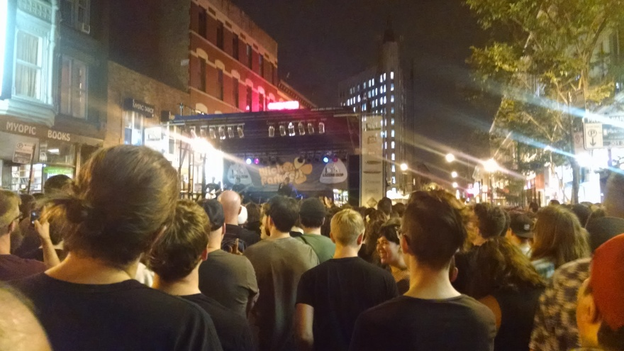 150626 - Deafheaven, Wicker Park Fest: is a shitty pic better than no pic?:photo by drumnmike